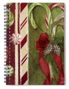 Sweet Holiday I Spiral Notebook