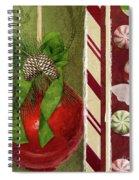 Sweet Holiday II Spiral Notebook