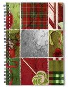 Sweet Holiday IIi Spiral Notebook