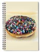 Sweet Indulgence - Donut Spiral Notebook