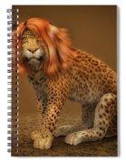 Sweet Lady Leopard Spiral Notebook