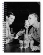 Sweet Overseas Beer Ration Spiral Notebook