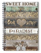 Sweet Paradise Series Spiral Notebook