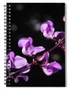 Sweet Pea Delight Spiral Notebook