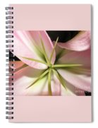 Sweet Pea Spiral Notebook