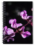 Sweet Pea Morning Spiral Notebook