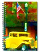 Sweet Ride Spiral Notebook
