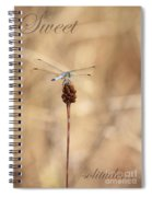 Sweet Solitude Spiral Notebook