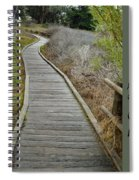 Sweet Springs Nature Preserve Text Spiral Notebook