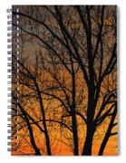 Sweet Sunset Spiral Notebook