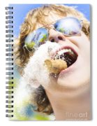 Sweet Taste Of Success Spiral Notebook