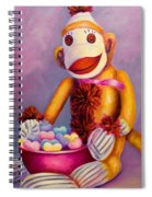 Sweetheart Made Of Sockies Spiral Notebook