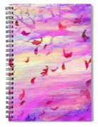 Swept Away Spiral Notebook