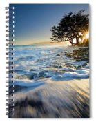 Swept Out To Sea Spiral Notebook