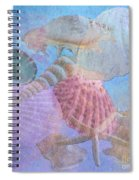 Swept Out With The Tide Spiral Notebook