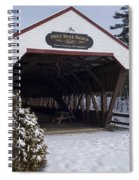 Swift River Bridge Conway New Hampshire Spiral Notebook
