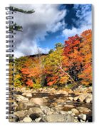 Swift River New Hampshire Spiral Notebook