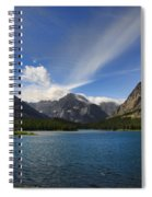 Swiftcurrent Lake - Glacier Np Spiral Notebook