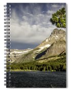 Swiftcurrent Lake Spiral Notebook