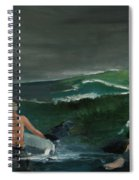 Swim At Your Own Risk Spiral Notebook