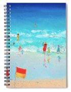Swim Day Spiral Notebook
