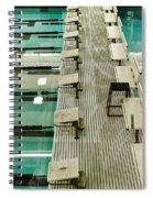 Swim Lanes Spiral Notebook