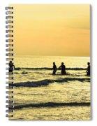 Swim Time Spiral Notebook