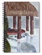 Swim To A Beach Bar Cool Huh Spiral Notebook
