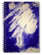 Swim To The Light Spiral Notebook