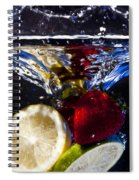 Swimming Fruits Spiral Notebook