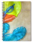 Swimming Gear Spiral Notebook
