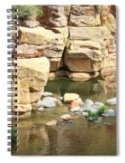 Swimming Hole At Slide Rock Spiral Notebook