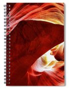 Swimming In Fire Spiral Notebook
