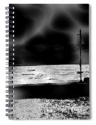 Swimming In The Storm. Spiral Notebook