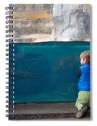 Swimming Lesson Spiral Notebook