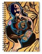 Swimming  Spiral Notebook