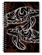 Swimming With Urchins Spiral Notebook
