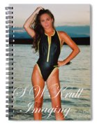 Swimsuit Girl Ad Spiral Notebook