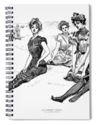 Swimsuits, 1900 Spiral Notebook