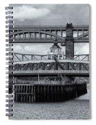 Swing Bridge Spiral Notebook
