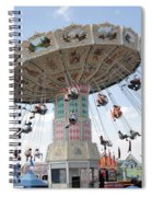 Swing Carousel At County Fair Spiral Notebook