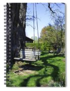 Swing In Spring Spiral Notebook