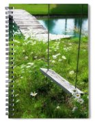 Swing In The Daisies With Bridge Spiral Notebook
