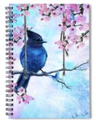Swing Into Spring Spiral Notebook