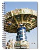 Swing Ride Spiral Notebook