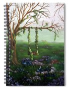 Swingin' With The Flowers Spiral Notebook