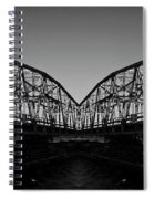 Swinging Reflection Spiral Notebook