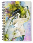 Swinging The Dreams Spiral Notebook