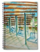 Swings At Smale Park Spiral Notebook