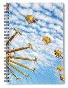 Swings On High Spiral Notebook